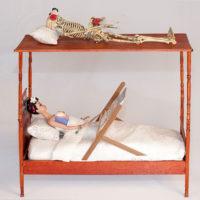 Frida a letto