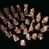Scacchi Maya contro Aztechi