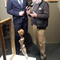 Achille Bonito oliva alla Triennale di Arti Visive